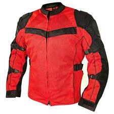 Xelement All Season Tri-Tex and Mesh Black/Red Jacket