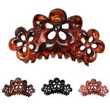 Lady Elegant Vintage Resin Barrette Hair Jaw Clip Claw Clamp Hair Accessories