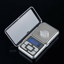 Mini Digital LCD Electronic Jewelry Pocket Gram Weight Balance Scale Natural
