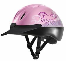 NEW Troxel Spirit Riding Hat Helmet - Dreamscape Pink / Sand - Everyday Use