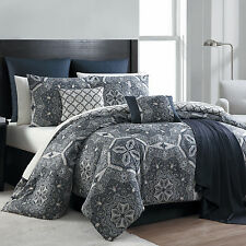 16 Piece Complete Comforter Bedding Set Bed in a Bag