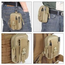 Tactical Waist Fanny Pack Belt Bag Camping Hiking Pouch Wallet Phone Bag Outdoor