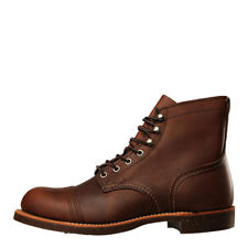 New Mens Red Wing  Iron Ranger Boots 8111 - Amber Harness 100% Leather