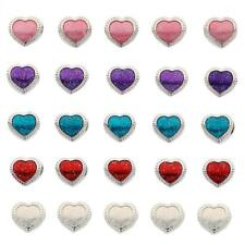 5pcs European Alloy Large Hole Heart Charms Space Charm Beads for Bracelet Chain