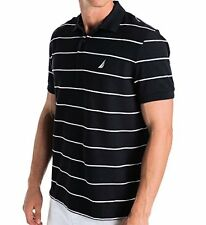 K42051 Nautica Mens Short Sleeve Stripe Deck Polo M- Choose SZ/Color.