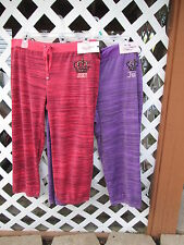 NEW LADIES JUICY COUTURE CAPRI'S PICK SIZE/COLOR