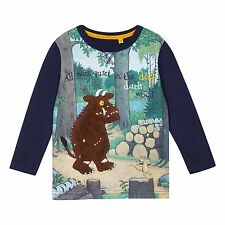 The Gruffalo Kids Boys Blue 'Gruffalo' Long Sleeve T-Shirt From Debenhams