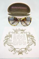 AUTHENTIC JUICY COUTURE ROYAL FLUSH Havana Sunglasses With Case & Cleaning Cloth