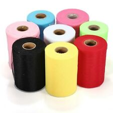 "6""x 25yd Tulle Roll Spool Tutu Wedding Party Gift Fabric Craft Decorations vf"