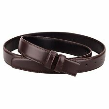 """Replacement Brown Leather Belt for Mens belts Tall Womens ferragamo buckles 1.1"""""""
