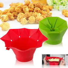 Silicone Microwave Magic Household Popcorn Maker Container Cooking Kitchen Tools