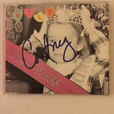 Hole Miss World Signed Autograph Cd Courtney Love