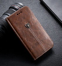 Luxury Fashion Cover Stand Card Holder Wallet PU Leather Case For LG Mobiles