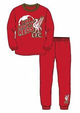 Boys Official Liverpool FC Football Pyjamas LFC Toddler Kids 18 Months - 4 Years