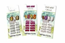Nail Wraps - Secrets 20 Pack Nail Wraps Transfers Foil- Holographic/Wild/Crackle