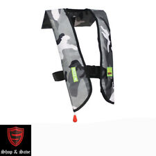 New Premium 33G Manual Inflate Inflatable PFD Survival Buoyancy Life Jacket Vest