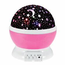 Beautiful LED Starry Night Sky Projector Lamp Star light Cosmos Master Gift Kids