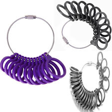 11/21Pcs Finger Ring Sizer Size Sizing Measure Gauge Tool Jewelry Set