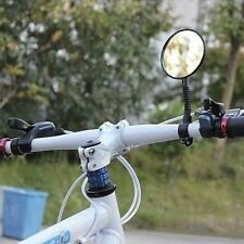 Quality Flexible Bike Bicycle Handlebar Glass View Cycling Cycle Rearview Mirror