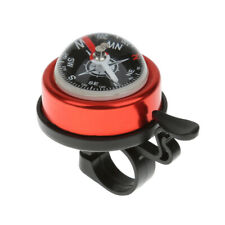 Alloy Bicycle Bike Safe Ring Alarm Bell with Compass Ball