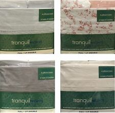 Tranquil Nights Luxury Weight Bedding Microfiber 6-Pcs Sheet Set - Full / Double