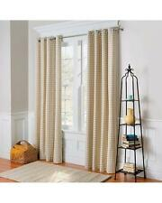 """Country Gingham Buffalo Checks Thermal Grommet Curtains Drapes 4 Colors 72"""" L"""