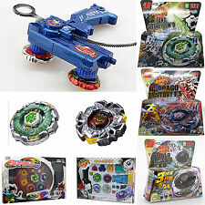 Fusion Top Metal Masters Rapidity Fight Rare Beyblade 4D Launcher Set Game Toys