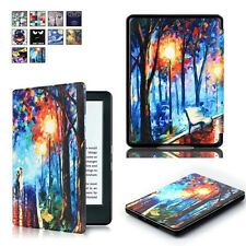 New Standing Protective Leather Case Cover for 2016 Amazon Kindle 8th Table 558