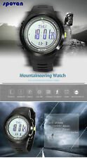 Digital Sports Watch Altimeter Compass Barometer Weather Forecast 5ATMWristwatch