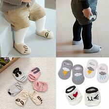 Infant Baby Cute Girls Boys Anti-slip Short Socks Cartoon Rabbit Rat Bear