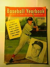 1950 Baseball Yearbook Published by TRUE magazine
