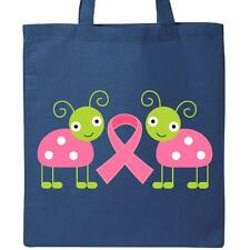 Inktastic Pink Awareness Ribbon Ladybug Tote Bag Breast Cancer Support Cute Walk