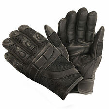 Xelement Women's Cool Rider Black Mesh Motorcycle Gloves