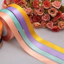 "Single Wrapping Party Bow Yards 5/8'' 3/8"" Wedding Handicraft Satin Ribbon"