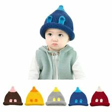 6-24M Baby Kids Toddler Girls Boys Infant Cute Warm Hat Winter Crochet Knit Cap
