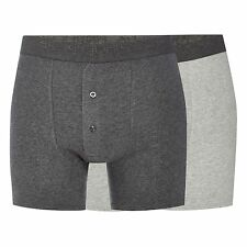 Rjr.John Rocha Mens Designer Pack Of Two Grey Boxer Shorts From Debenhams