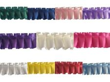RIBBON/PLEATED RIBBON/EASY PLEAT RIBBON IN 11 COLOURS 2 LENGHTS/FLORAL/FLORISTRY