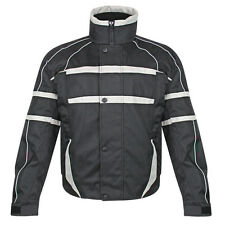 Snow Master Men's Arctic Insul Tex Black Cold Weather Motorcycle Jacket