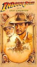 Indiana Jones and the Last Crusade (VHS, 1990) Harrison Ford, Sean Connery