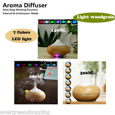 Aroma Diffuser LED Air Purifier Ultrasonic Humidifier Essential Oil Aromatherapy
