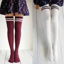 High Stockings Over  Knee Socks Cylinder College Wind Compression Stockings