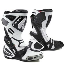 Forma ICE PRO white mens motorbike motorcycle boots