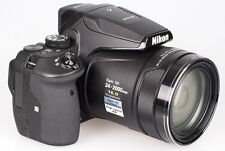 Nikon COOLPIX P900 16.0 MP 83x Optical Zoom Digital Camera - Black-Brand New!