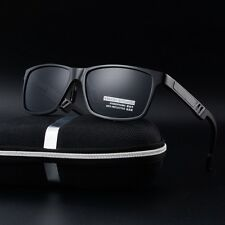 HD Men's Aluminum Polarized Driving Sunglasses Sports Mirrored Glasses Eyewear