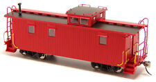 Undecorated (Painted & Unlettered) MC / ACF 3 Window 36' Wood Caboose