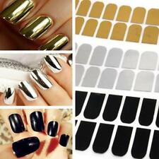 Fashion DIY Patch Foils Metal Sticker Armour Wraps Nail Art Tips