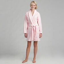 Luxury Bathrobe Soft Colors Bath Robe Plush Cotton Terry Cloth Robes for Women