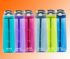 Avex Water Bottle Autospout Spill & Leak proof with Clip Lock Carry Handle
