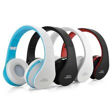 NX-8252 Foldable Stereo Wireless Bluetooth Over-ear Headphone Headset with Mic
