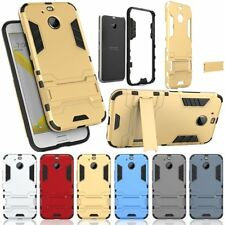 For HTC Bolt / HTC 10 Evo Armor Rugged Rubber Hybrid Kickstand Case Cover New